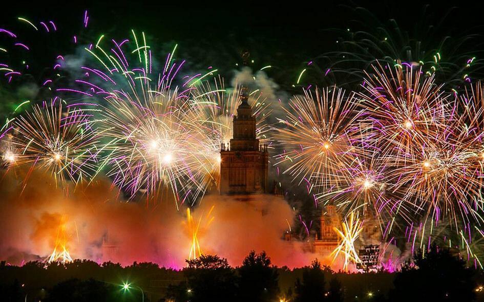 Russia: Capodanno 2019 a Mosca