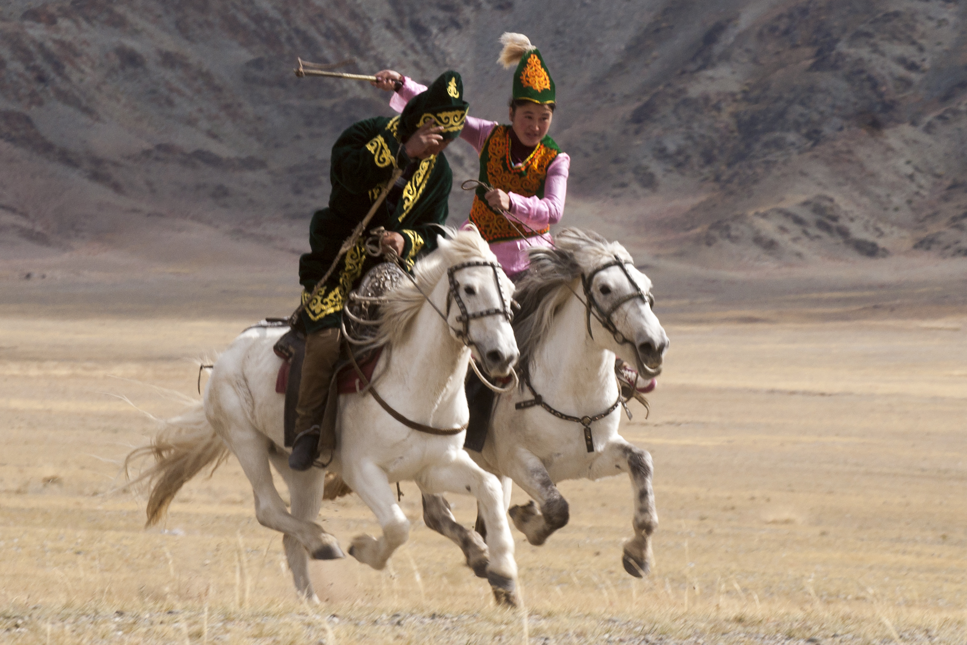 Mongolia: Golden Eagle Festival