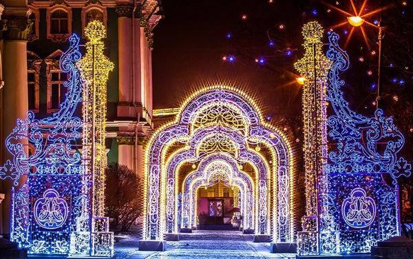 Russia: Capodanno 2019 a San Pietroburgo