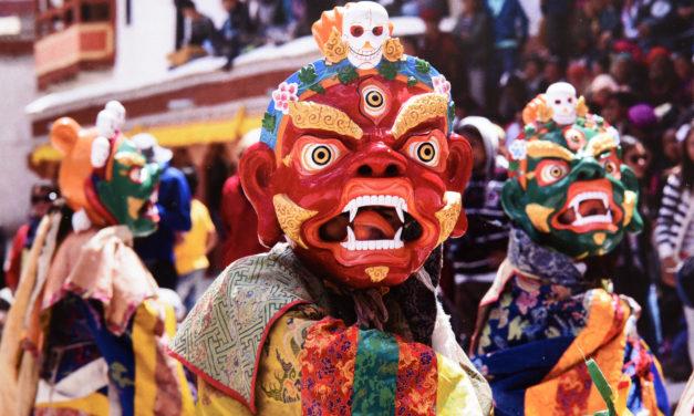 INDIA: Ladakh, Hemis festival